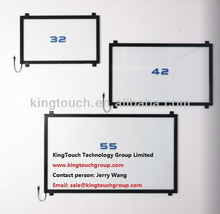 "KingTouch High Quality low Price, 32"" IR touch frame without glass, Infrared touch screen/Panel"
