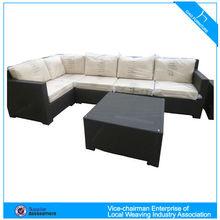 HM- home used rattan garden sofa CF731