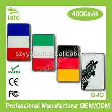 4000mAh portable handsets battery charger