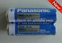 R6.AA Zinc carbon battery