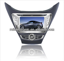 For 7 inch Hyundai 2012 Elantra car dvd player