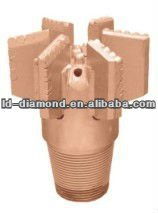 PDC drag bit own connection are NW connector or APIREG and used in water well,geothermal,geological exploration,gas drainage hol