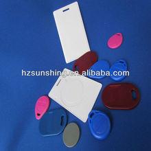multi-color door control key tags
