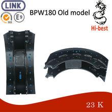 BPW180 Old model brake shoe steel