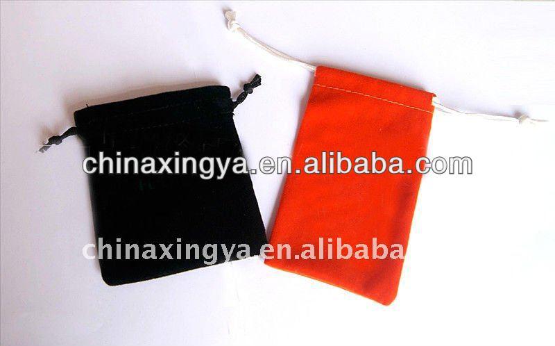 export microfiber jewelry pouches velvet gift bags