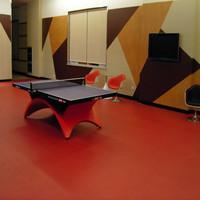 table tennis/pingpong floor mat/pvc olahraga lantai