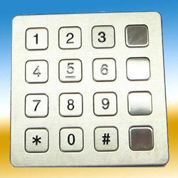 Auto Dial Kiosk keyboard