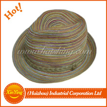 wholesale good quality custom straw recycled paper hat