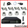 H.264 8 Channel CCTV Cameras Kit and DVR Kit Outdoor