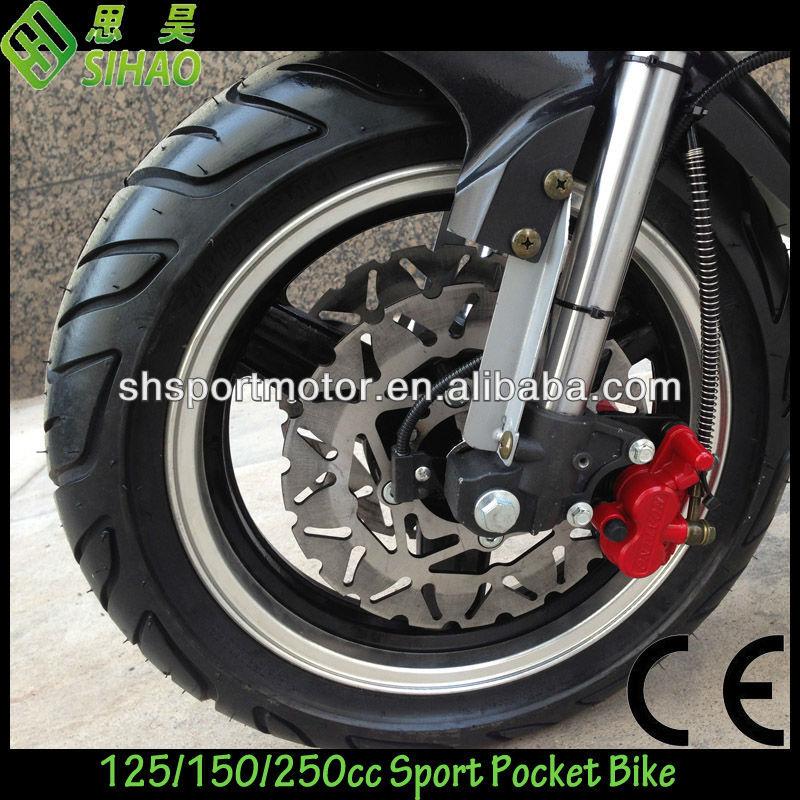 150cc Matte Black Racing Pocket bike Motorcycle CE
