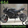 1250cc Matte Black Racing Pocket bike Motorcycle CE