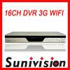 16CH Iphone DVR 3G Wifi Sunivision DVR Manufacturer