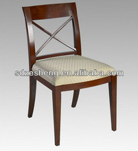 2013 wood dining chair make in Foshan ZH-B001