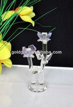 crystal model flower