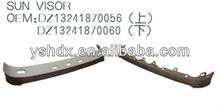 Shacman Delong F3000 Sun visor, DZ13241870056 DZ13241870060 TRUCK SPARE PARTS