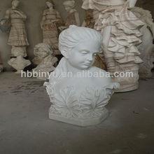 Hot vente 2013 femelle, bustes en marbre en marbre blanc