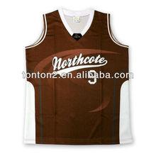 sublimated fashion custom mesh jerseys basketball