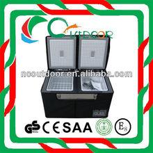 100L protable dual zone mini compressor refrigeration