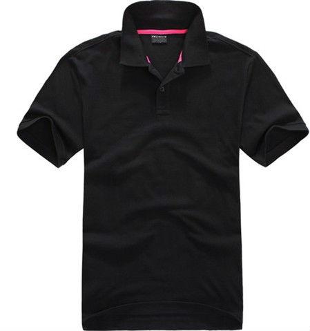 Siyah polo t shirt/tasarımcı polo t shirt erkek/en çok satan polo t shirt
