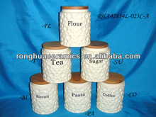"""New Chaozhou Ceramics Round 6.5"""" Airtight canister"""