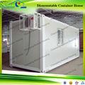 Portáteis baratos pré-fabricada container escritório na china