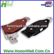 Leather Nurse Flash Drive Usb Pocket Buckle