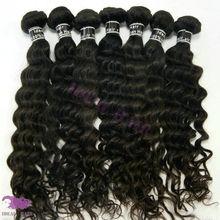Whole natural color real human hair 100% virgin indian hair