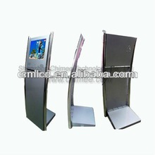 17 inch stand lcd advertising kiosk (aspect ration 4:3,1280 x 1024 optimal A+lcd panel)