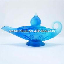 Teapot fashion crystal glass christmas gifts