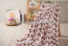 Polar Fleece Blanket,Print Luxurious Blanket Fabric