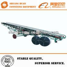 Automatic trailer/van/truck/container loading conveyor