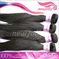 Belleza y popular pure virgen brasileña del pelo humano que teje