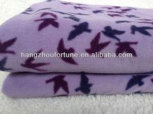 100% Polyester Polar Fleece Blanket,Print Leisure Blanket