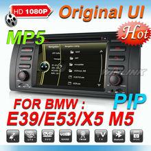 7inch touch screen car dvd player for bmw e39 e53 x5 with new original UI