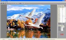 3d photo design software for designing flip images with 3d depth effect
