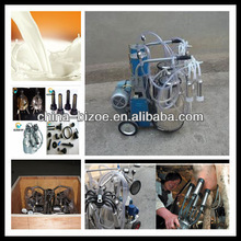 Farm used milking machines for cows