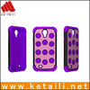 Hybrid high impact silicone plastc phone cover for samsung galaxy S4