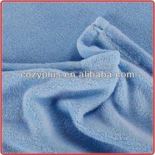 2013 China supplier 100% Polyester Fabric Polar fleece/Coral fleece for shoe shine glove