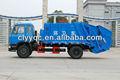 Dongfeng 4*2 traseiro- carregamento caminhãodelixo clw5110zyst 3, especial para a coleta de lixo e transporte