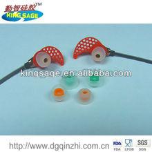 silicone bluetooth phone ear cap