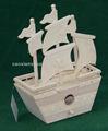 2013 projetado novo pequeno barco de madeira para artesanato children'wooden para venda