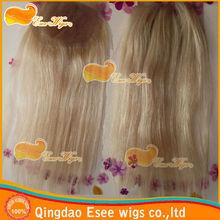 "100 remy virgin brazilian hair #613 blonde lace closure pieces 4""x4' 120% density"