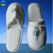 high quality terry towel hilton hotel slipper