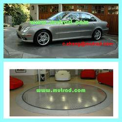 Garage Parking Car Turntable Solution