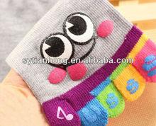 2013 hot sell fashionable gel toe socks