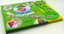 childrens botão de música livro crianças inglês falando livro