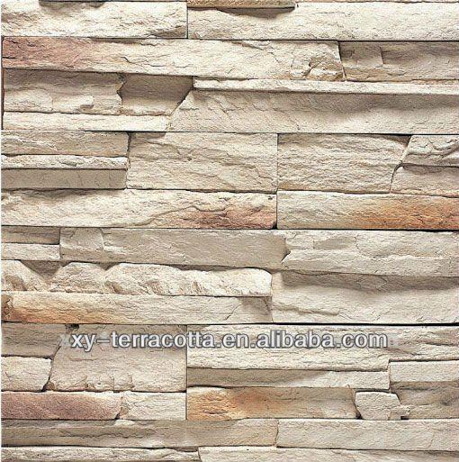 Artificiale muro di mattoni mattonelle di pietra finto - Piastrelle muro pietra ...