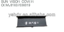 Sun Visor Cover 81637036019 for Shacman Delong Man F3000 truck spare parts,heavy duty truck parts