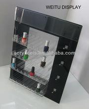 cosmetic racks nail polish acrylic