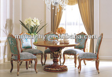 D503 2013 novo estilo francês antigo sala de jantar cadeira e mesa